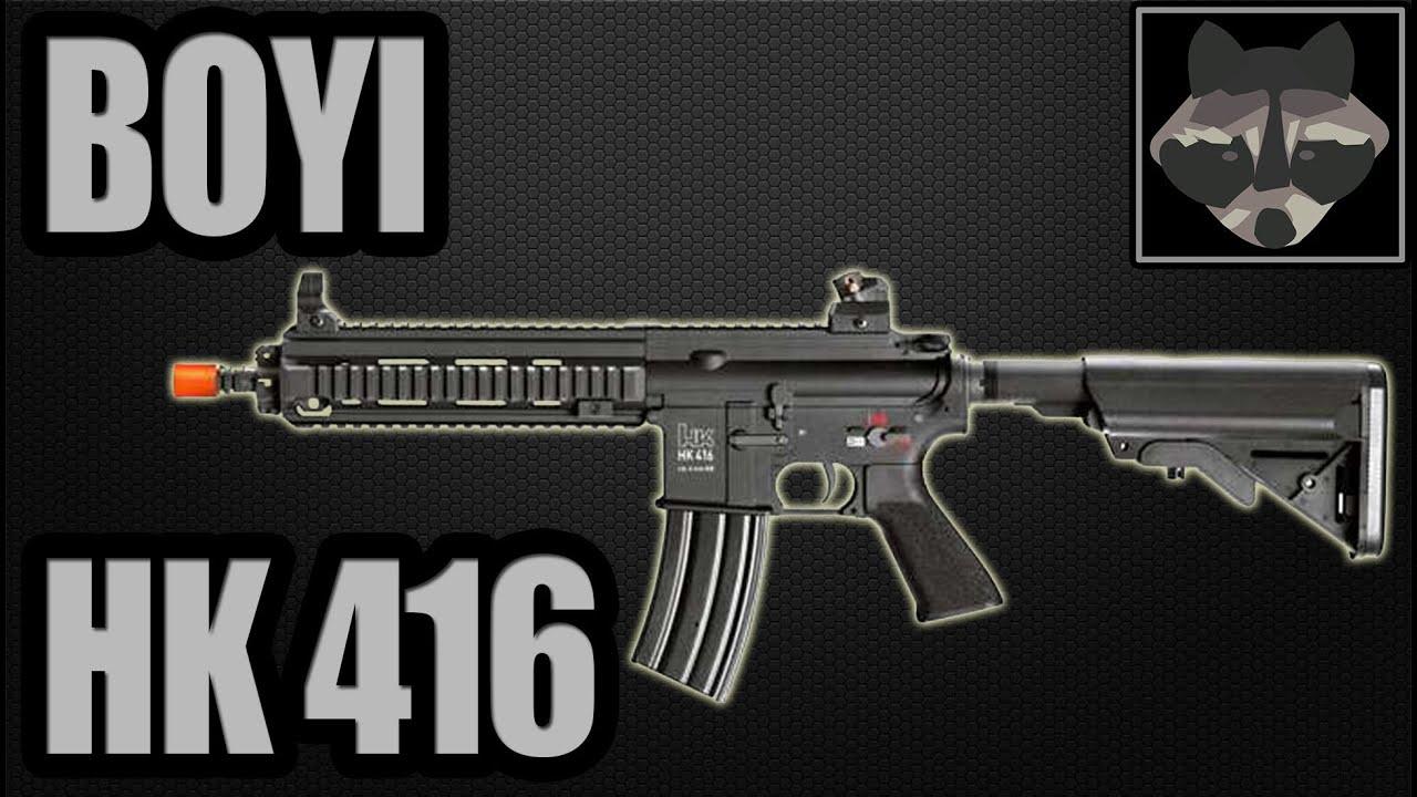 BOYI HK 416 – Test Airsoft [HD]