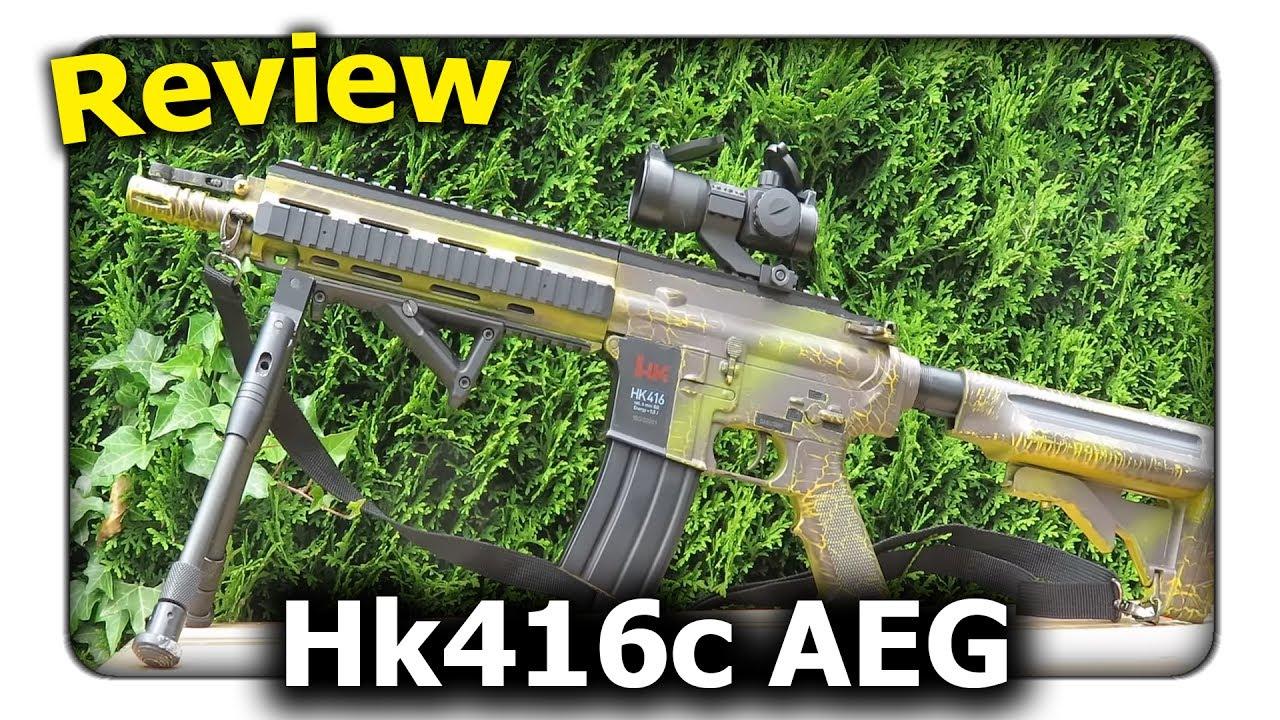 [Review] Hk416 AEG 0,5j – Pourquoi tant de débutants prennent-ils cette arme? || Q Airsoft