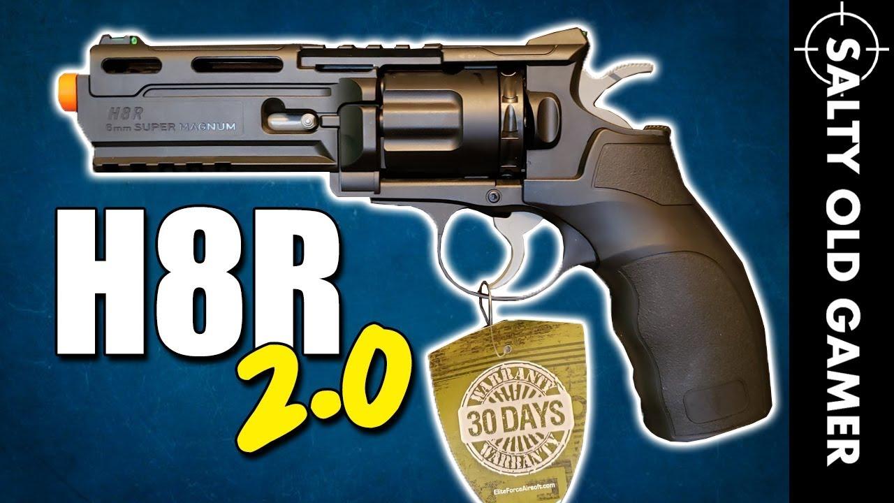 Pistolet Airsoft Elite Force H8R Gen 2   SaltyOldGamer Airsoft Review