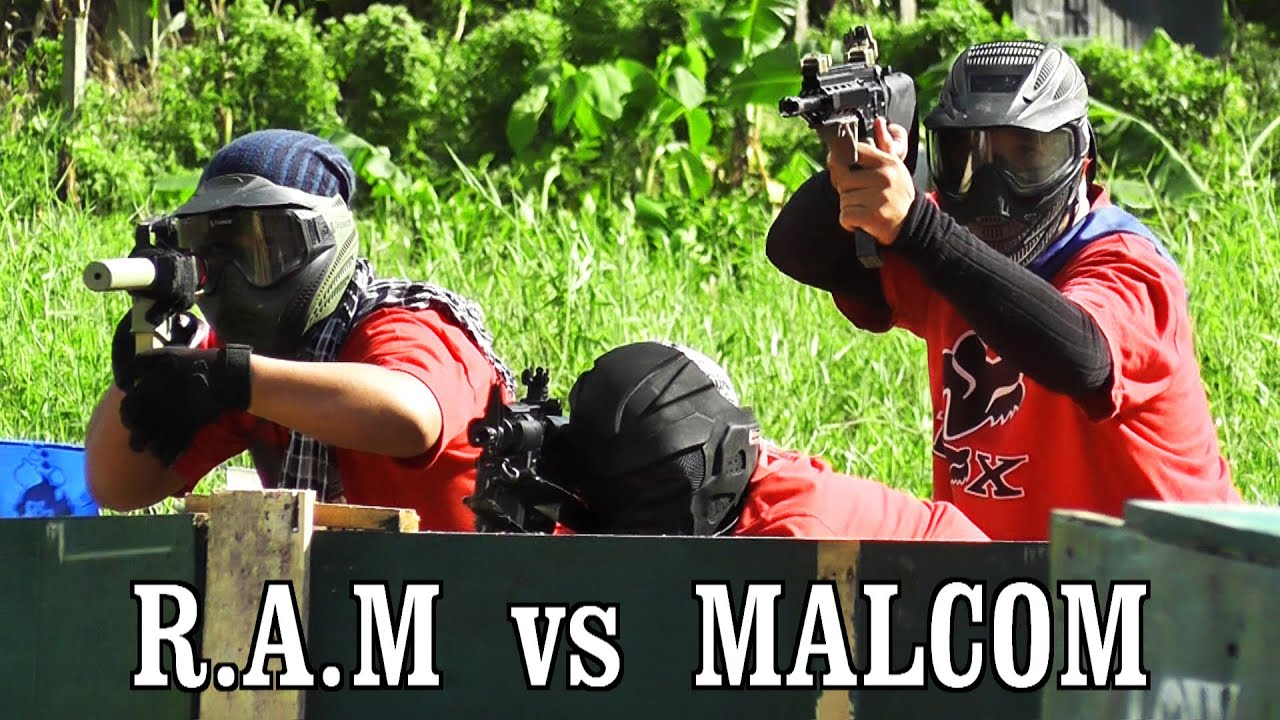 Match Airsoft: RAM vs MALCOM dans le tournoi JTU Airsoft
