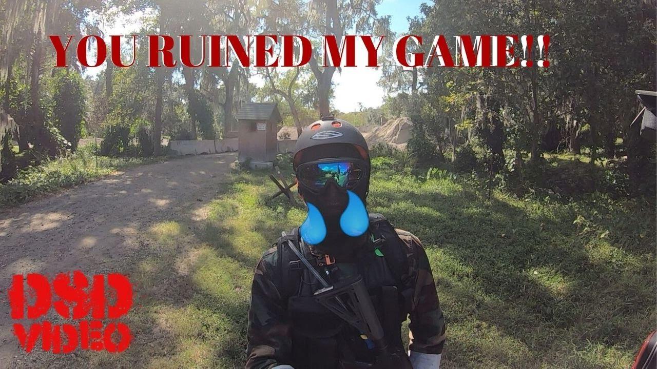 Tricheur se met en colère et me tire dessus alors qu'il est mort – Airsoft Sniper Cam