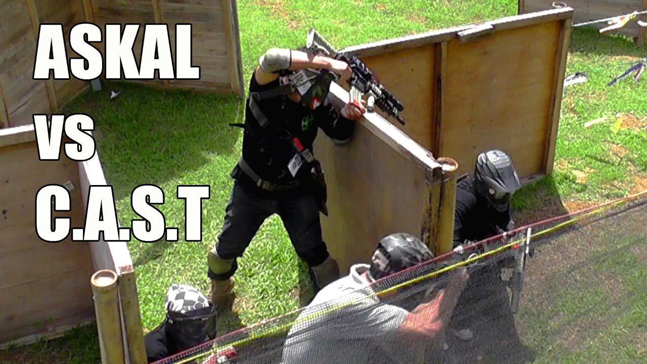 Match complet de Airsoft Zero Dark Thirty – ASKAL vs CAST