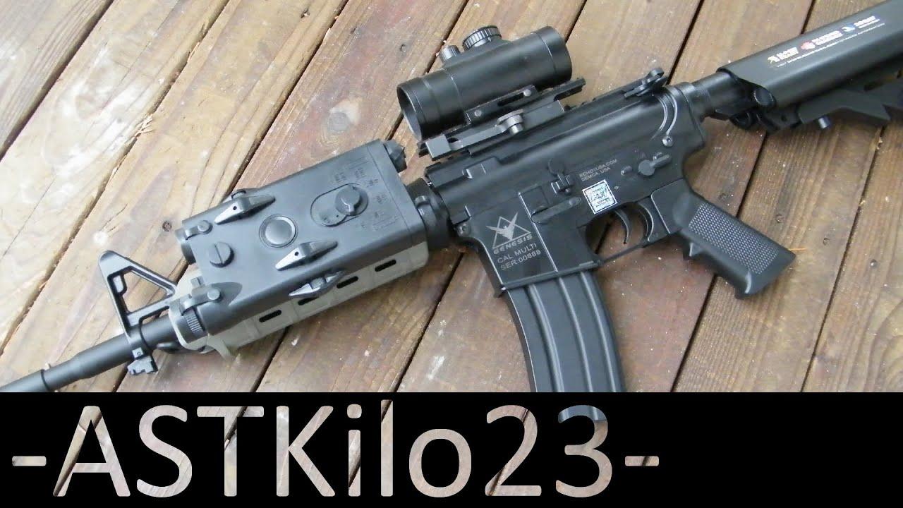 Meilleur pistolet Airsoft pour débutant? Etude de la Echo 1 Genesis M4 -ASTKilo23-