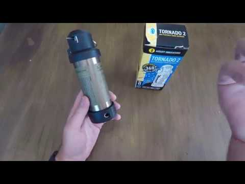Airsoft Innovations test / review Tornado 2 grenade