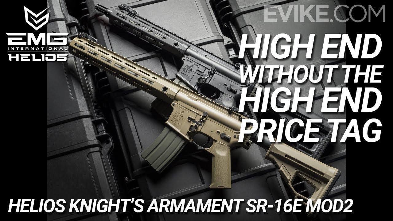 Haut de gamme sans étiquette de prix haut de gamme – Armement SR-16E Mod2 – 6mm de Helios Knight