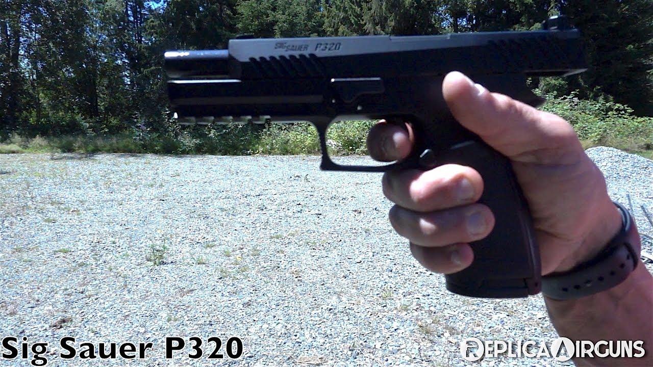 Sig Sauer ASP P320 CO2 Blowback .177 Test de pistolet à granulés de calibre