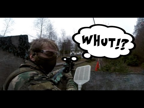 Comment posséder le terrain avec des armes bon marché | Gameplay d'AIRSOFT | MOMENTS MARRANTS