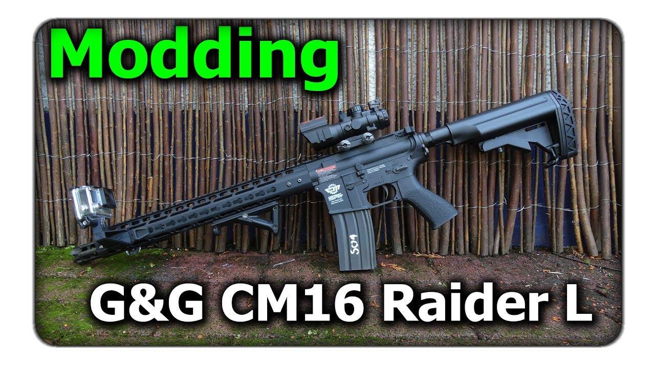 [Modding] G & G CM16 Raider L (internes et externes) || Q Airsoft