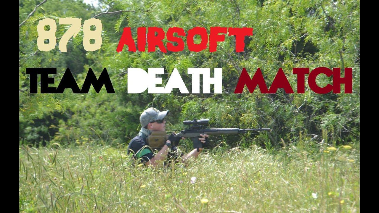 """878 Airsoft: Match à mort par équipe """"Temps de récréation au Krytac CRB"""" • 5.21.16 •"""