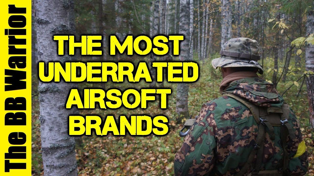 Les marques les plus sous-estimées dans Airsoft
