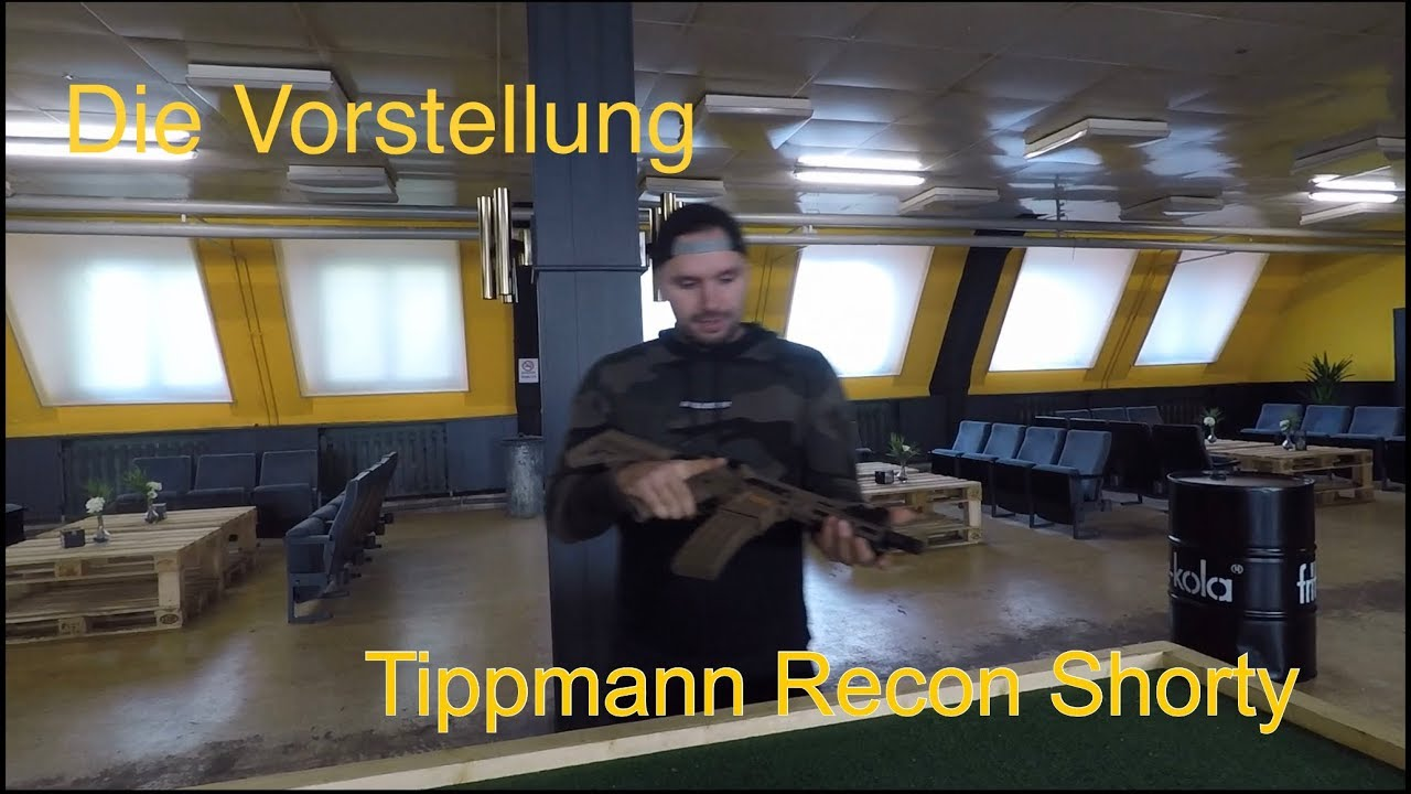AREA13 / Airsoft Tippmann Recon Shorty S-AEG / Présentation et test / Airsoft et Paintball