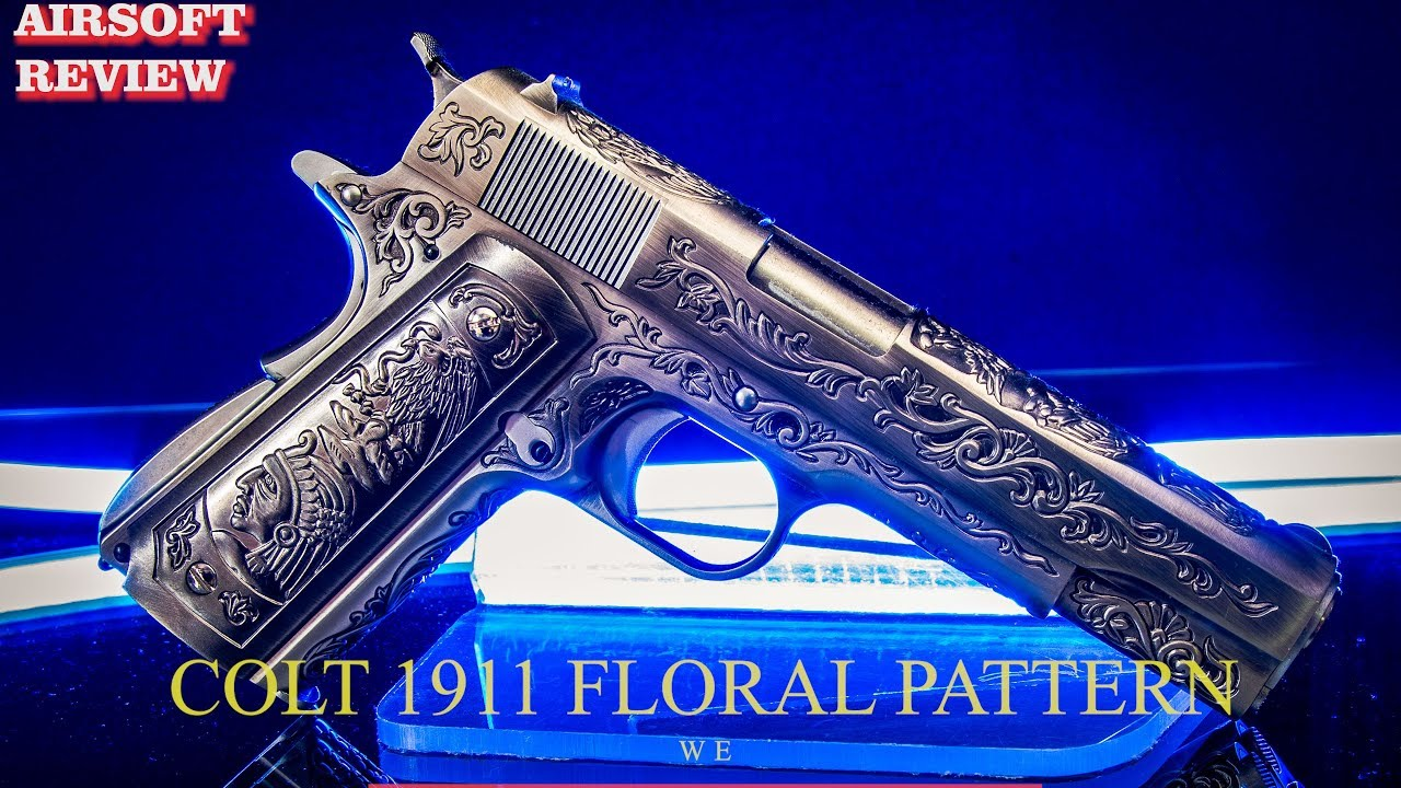 [AIRSOFT REVIEW] COLT 1911 FLORAL PATTERN WE