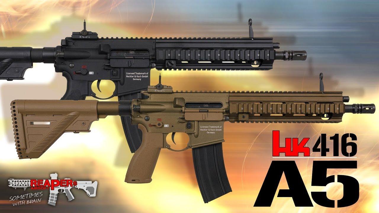[Review] VFC / Umarex HK416 A5 S-AEG (2018) – (Heckler & Koch) – Airsoft 6mm / Softair 4K UHD