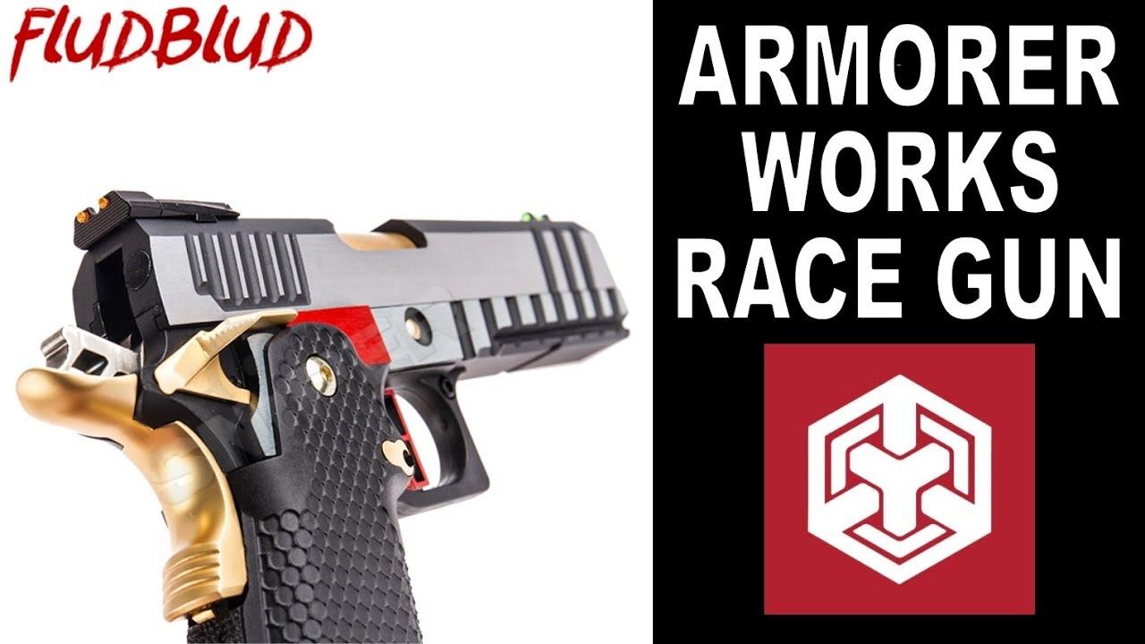 Déballage et examen du pistolet Airsoft HX2001 d'Armorer Works