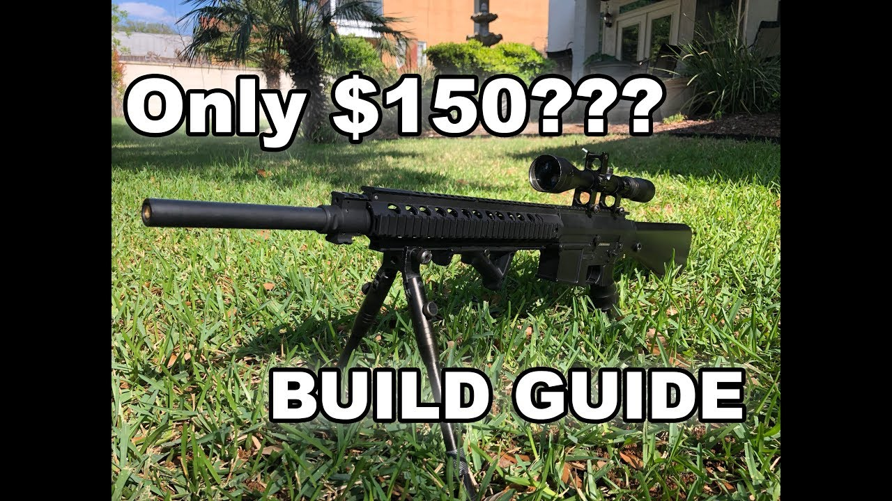 Budget Airsoft DMR Build Guide / Révision Matrix SR-25