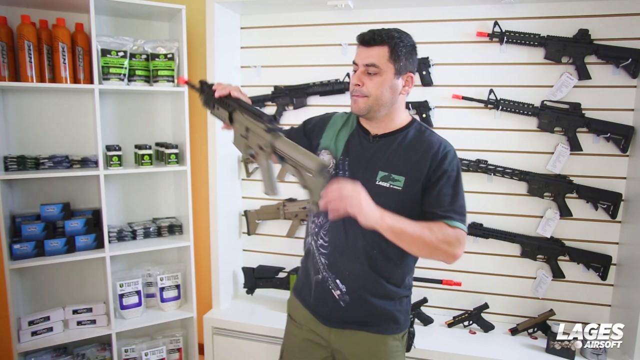 Airsoft Rifle AEG M4 SIR Evo Revue des armes