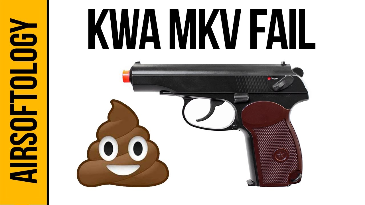 Le pire pistolet Airsoft? – Le KWA MKV | Revue Airsoftology