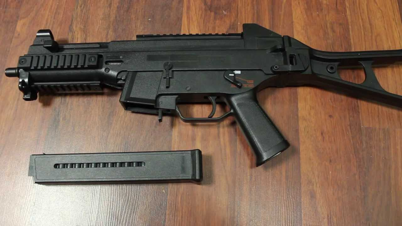 H & K UMP Review (GsP Airsoft) ALLEMAND
