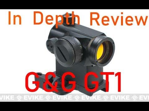 Revue Airsoft – Visée à point rouge G & G GT1