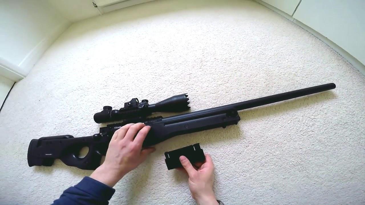 Test et revue de la gamme ASG AW 308: fusil de précision Sniper Airsoft [MVSaylanTV Technology]