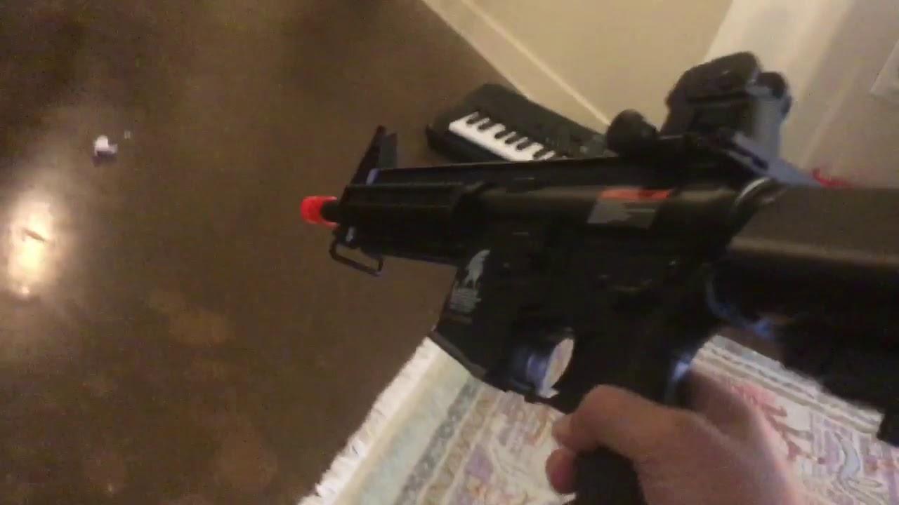 J'ai eu un AIRSOFT GUN! révision / déballage. Lancer tactique 2019! Nouveau pistolet tactique de lancer!