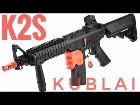 KUBLAI K2S MK18 BLASTER GALL BALL: examen de déverrouillage et bogue