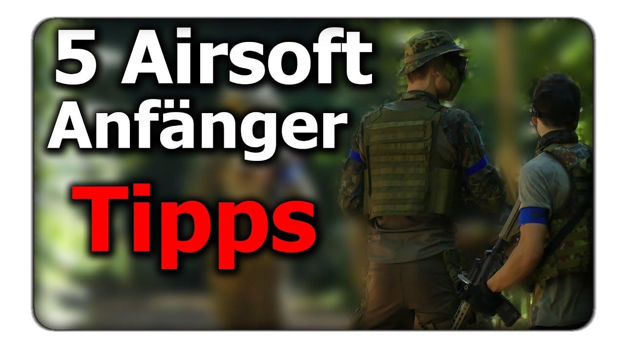5 astuces que chaque débutant Airsoft doit connaître!