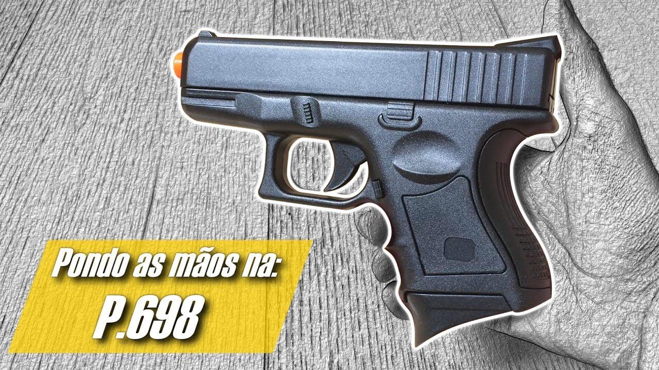HANDS ON: P.698 – CYMA (Pistolet à ressort de printemps) (Airsoft Premières impressions)
