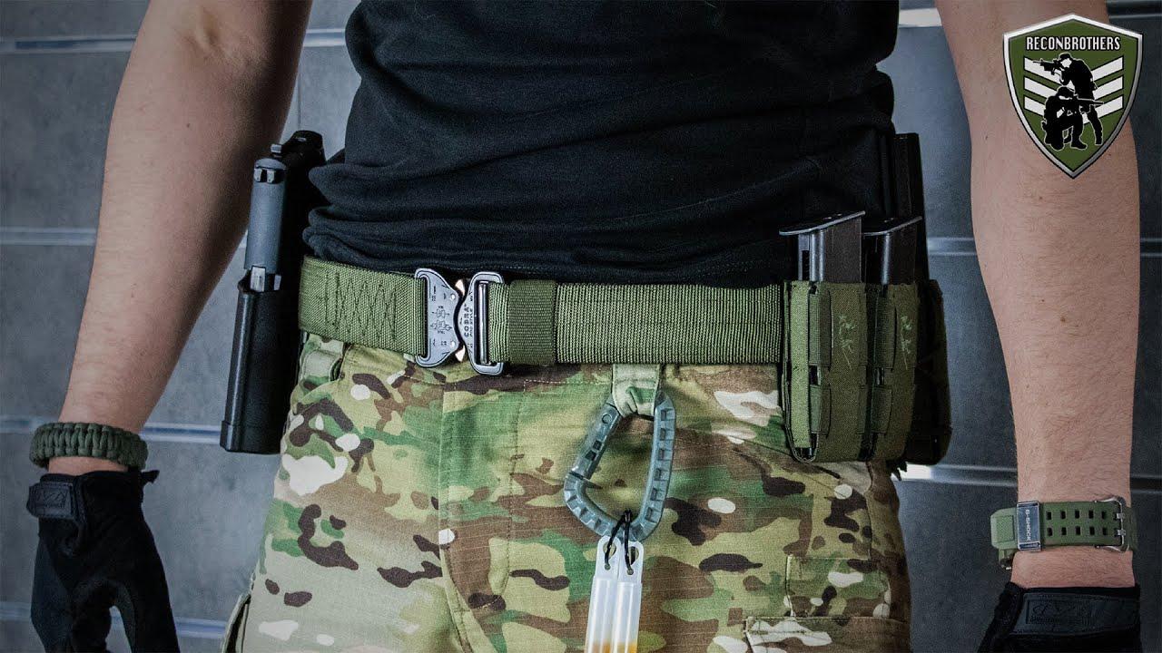 Configuration de ceinture tactique Reconbrothers pour Milsim & Airsoft
