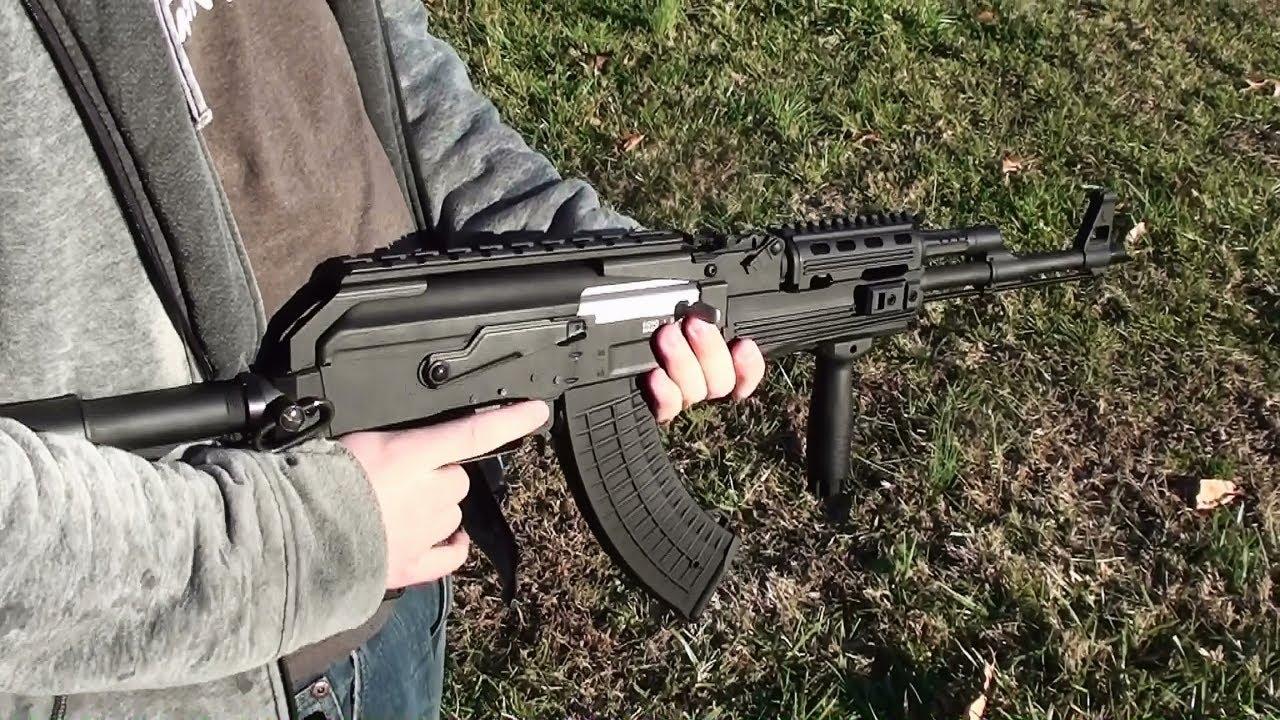 Écho de tir 1 fusil d'assaut AK Airsoft de fusil d'assaut AK tactique et fusil de chasse 12 ga