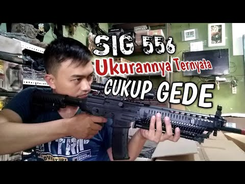 Ressort de pistolet Airsoft SIG556. Unboxing et bref examen.