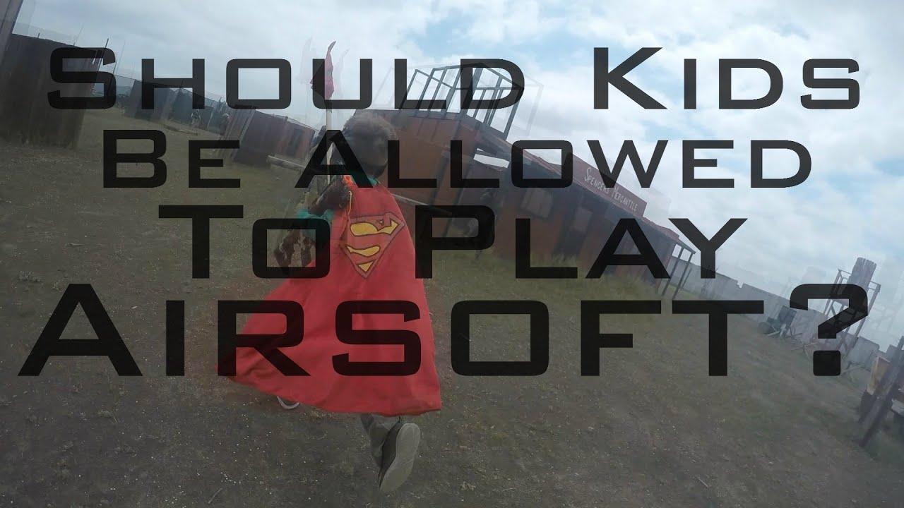 Devrait-on autoriser les enfants à jouer à Airsoft?
