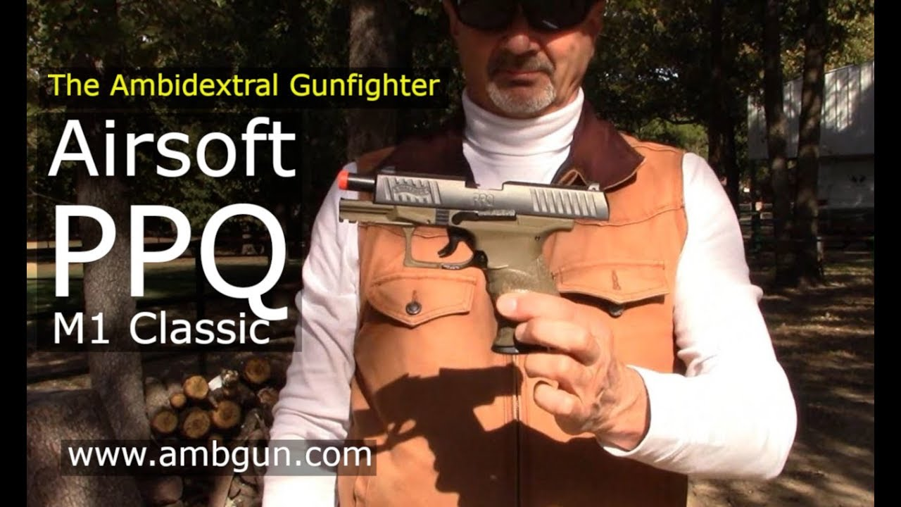 Umarex USA Airsoft – Walther PPQ M1 Classic