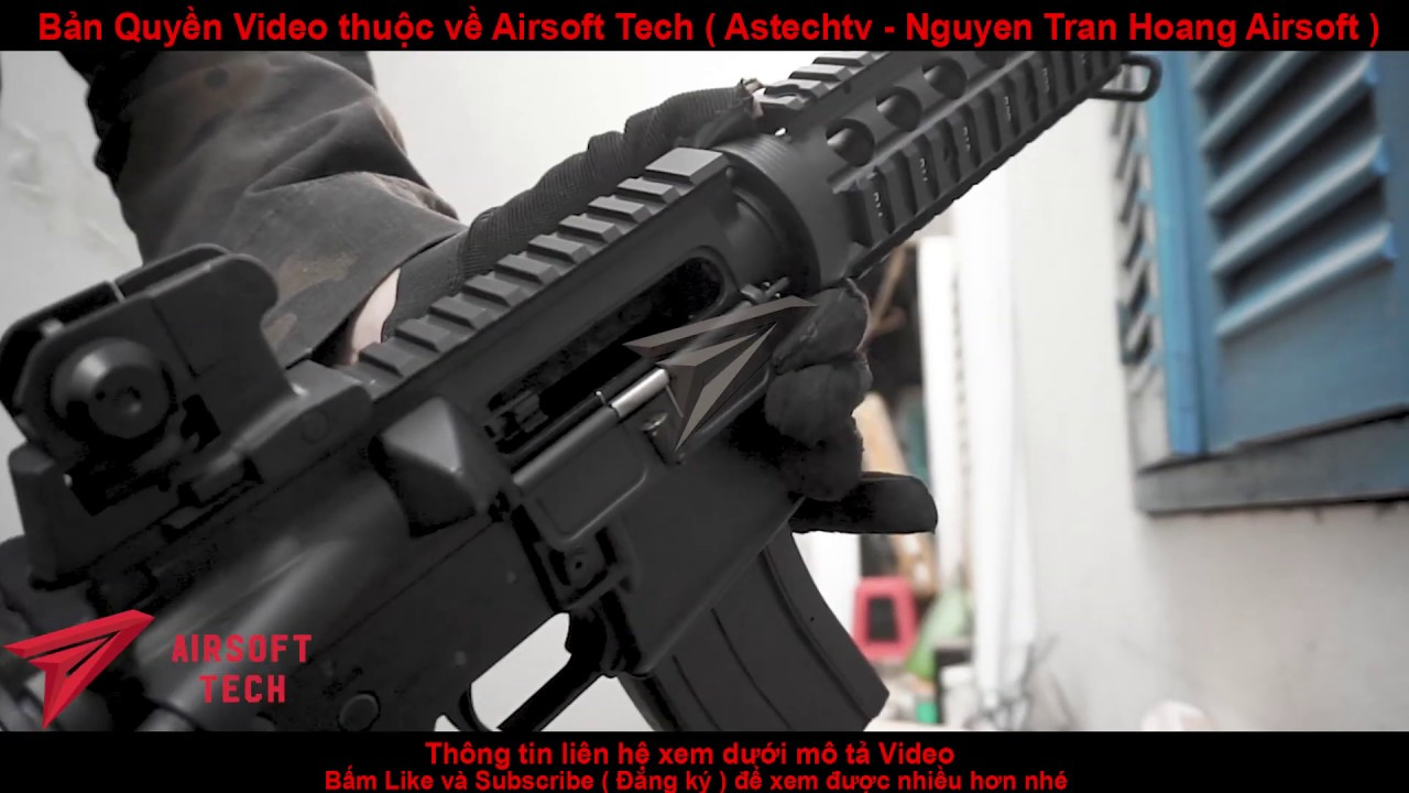 Tournage M4a1 CQB. Testez la puissance du meilleur fusil Airsoft de Hong Kong