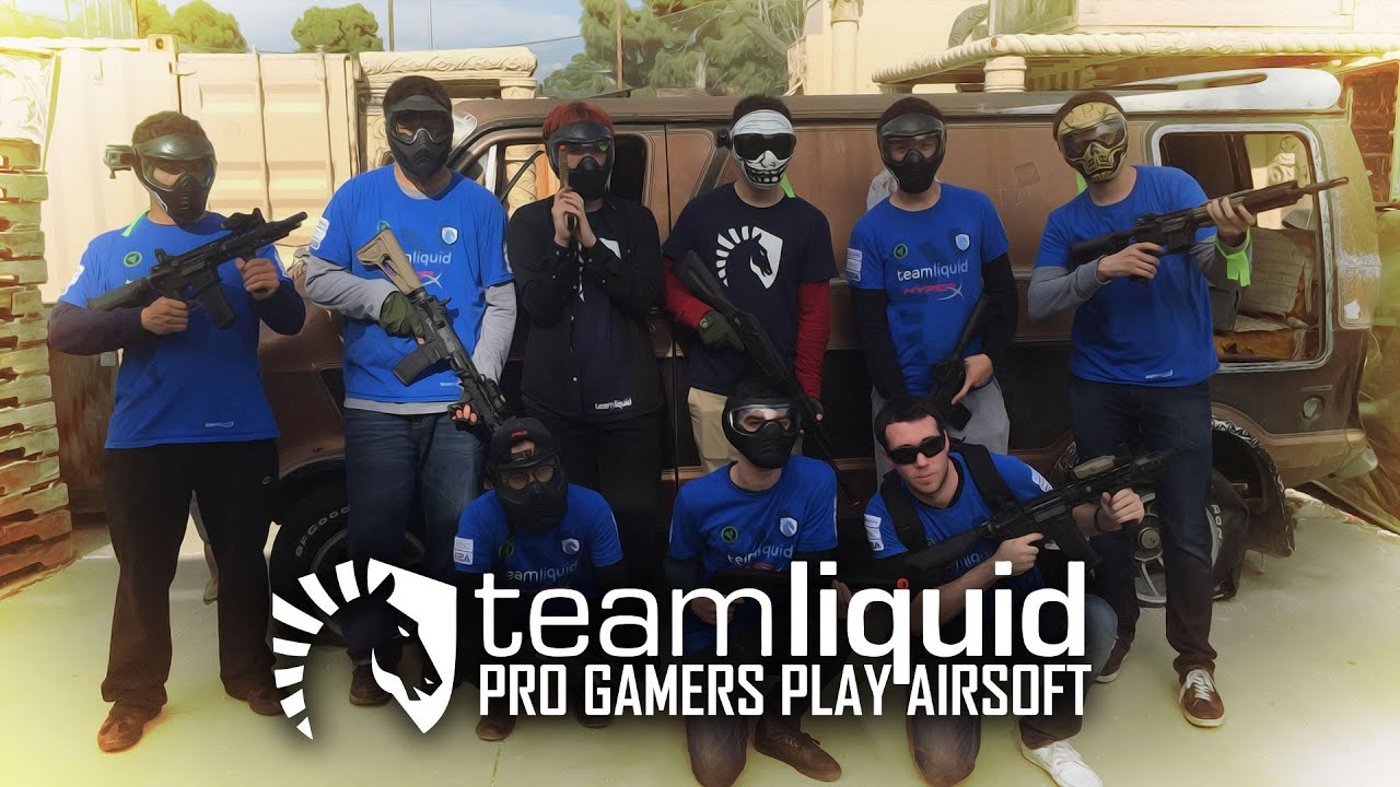 PRO GAMERS PLAY AIRSOFT | Team Liquid à Hollywood Sports Park – Airsoft GI