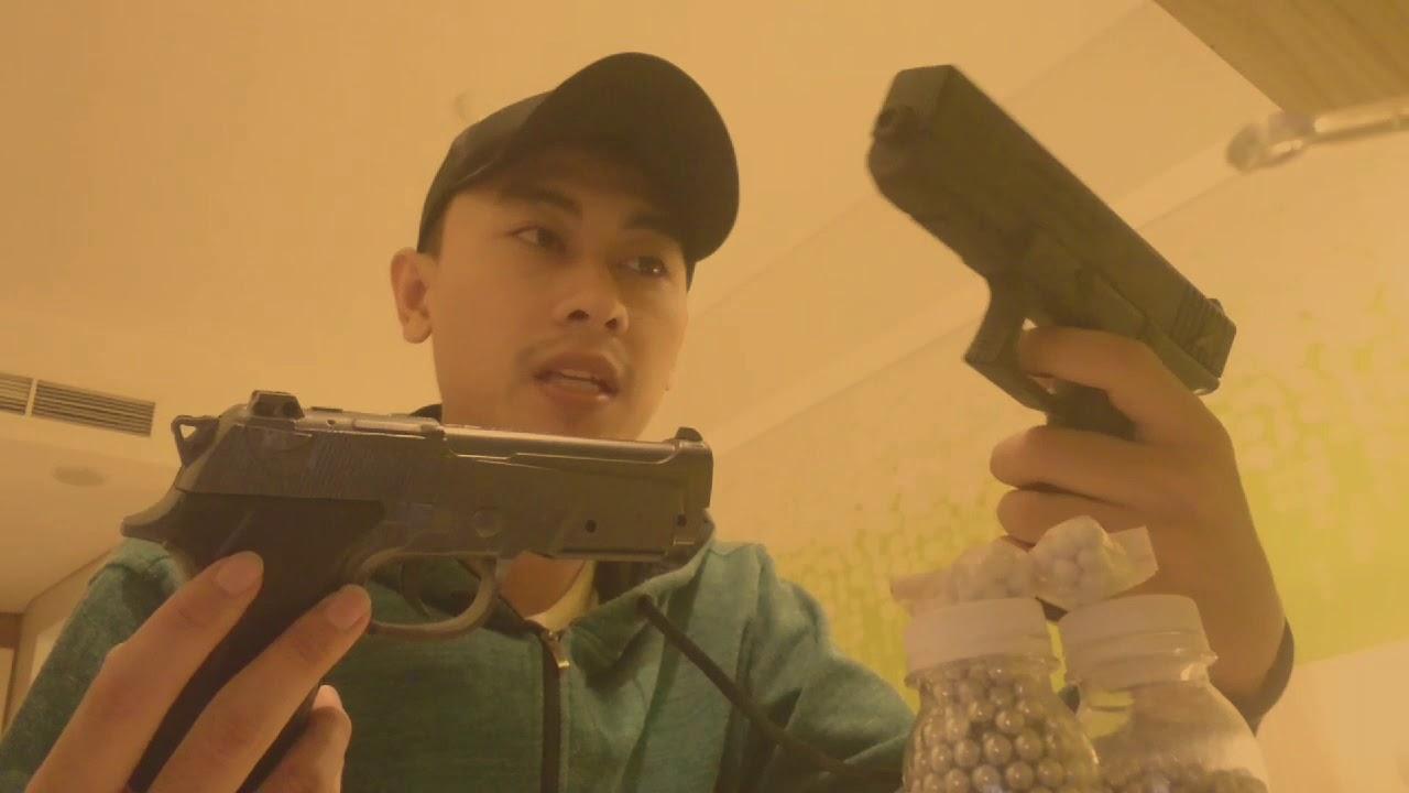Test du printemps Airsoft Berretta MP 900 et Glock 17 #airsoftgun #glock #berretta #gun