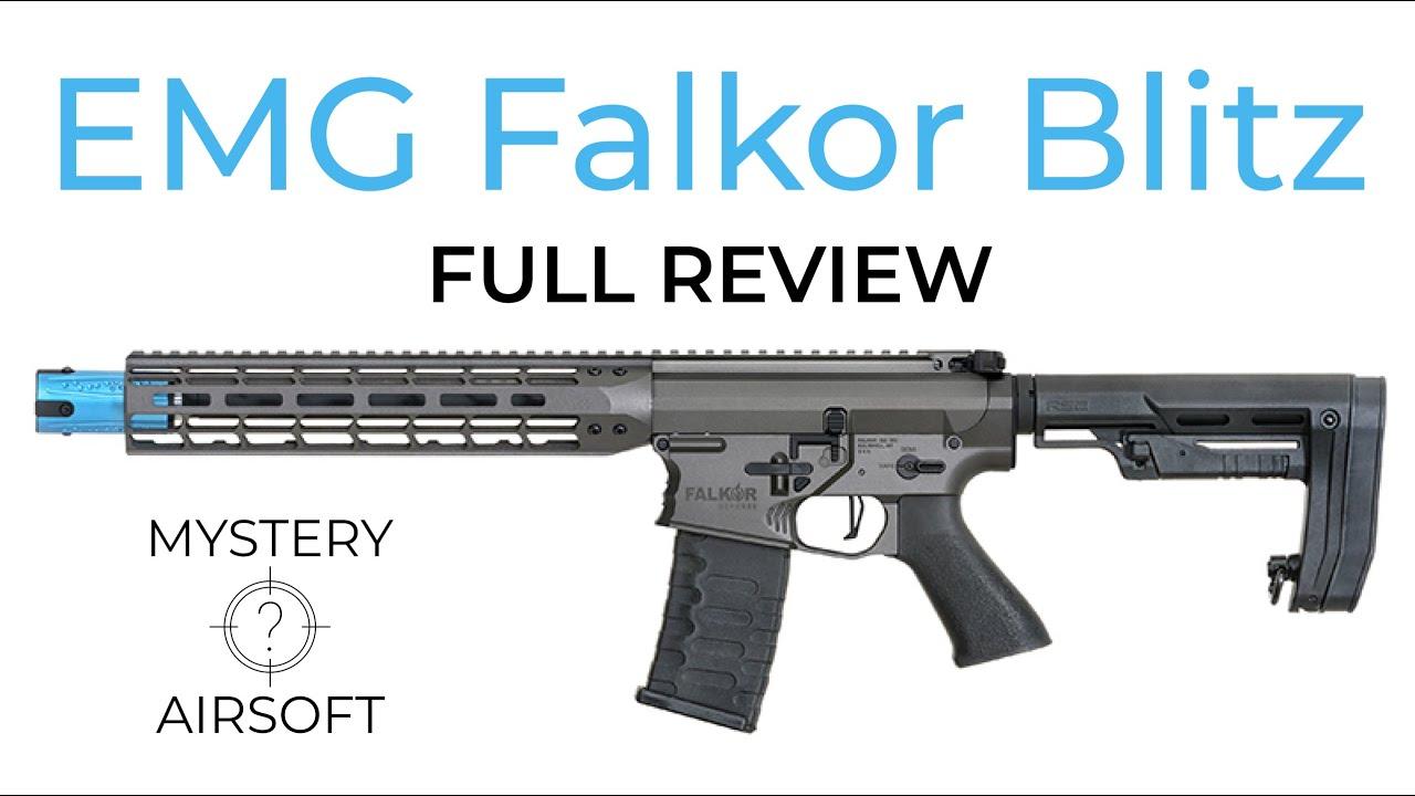 EMG Falkor Blitz – Le sportif M4 – Test complet du pistolet