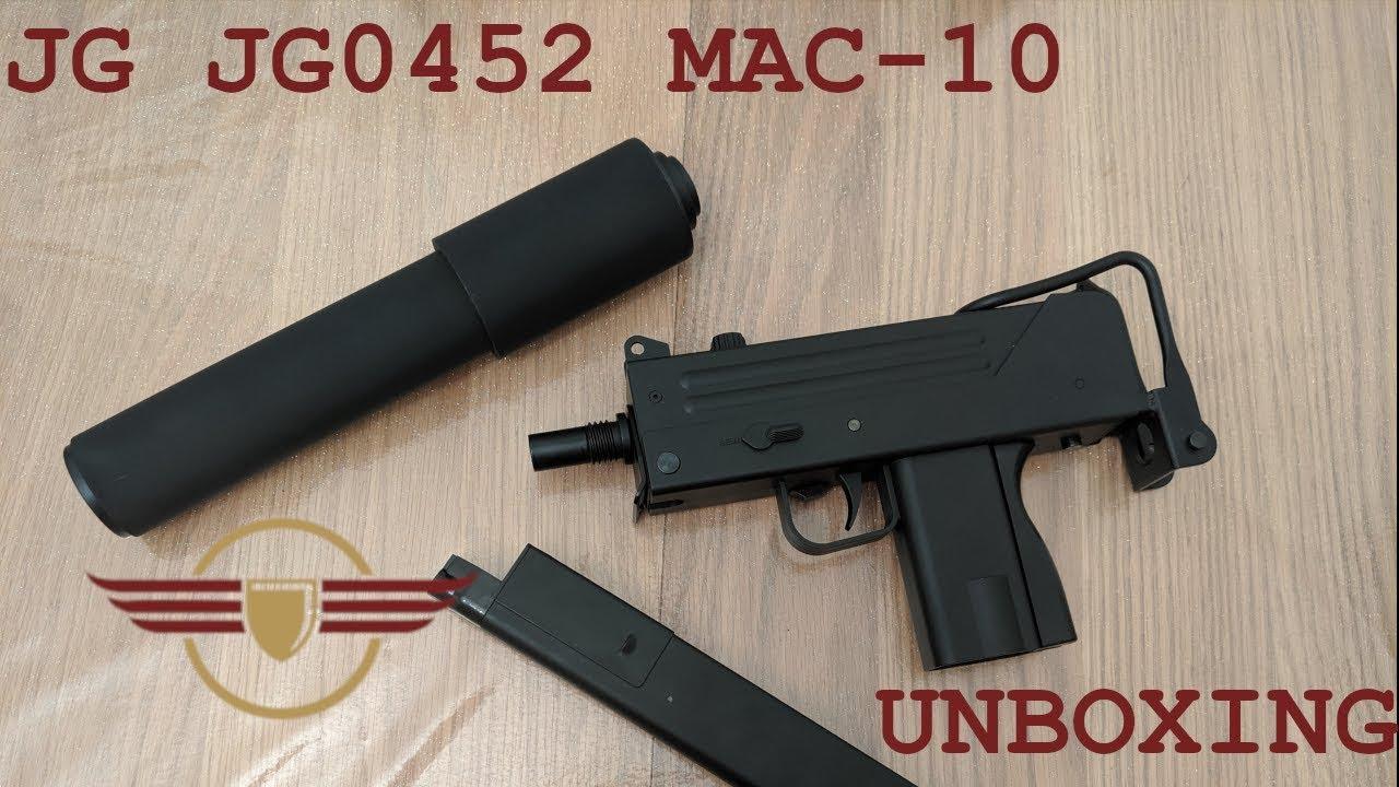 [UNBOXING] JG MAC10 JG0452 Unboxing – Silencieux pour bras latéral Sniper