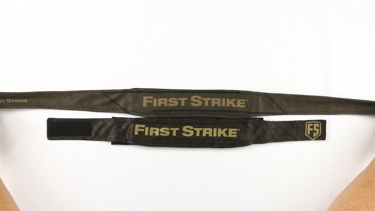 Bandeau et serre-tête First Strike – Brique / Foudre – Examen