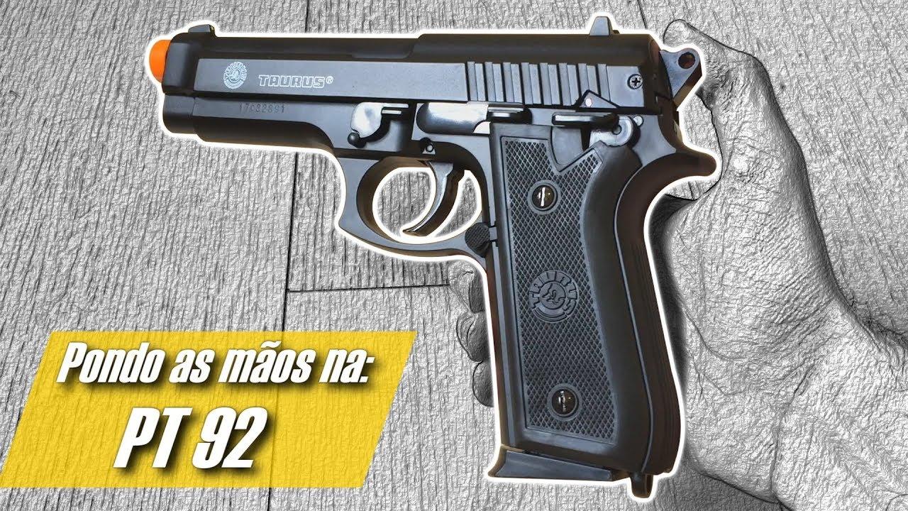 HANDS ON: EN 92 TAURUS – Cybergun (Pistolet à glissière à ressort en métal) (Airsoft First Impressions)