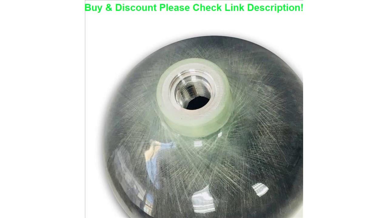 Nouveaux produits AC3680! One Pieces6.8L 4500PSI 300bar PCP Airsoft Condor Paintball en fibre de carbone