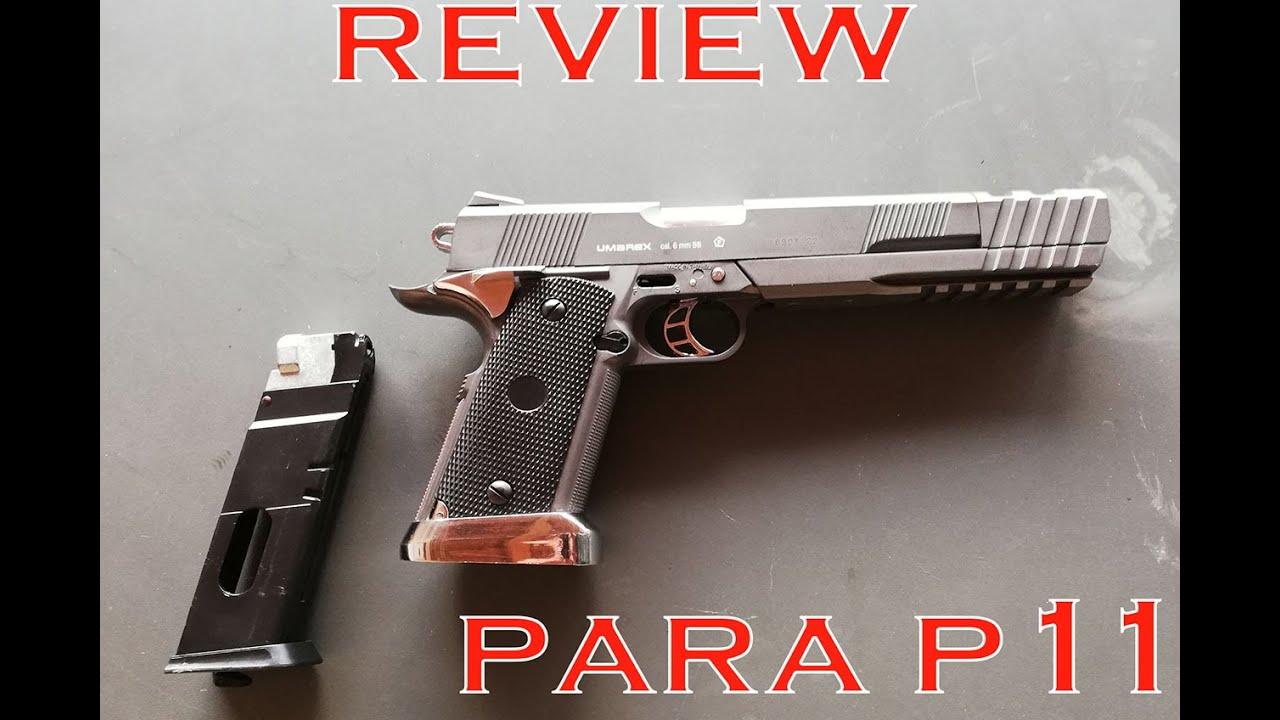 AIRSOFT REVIEW – PARA P11