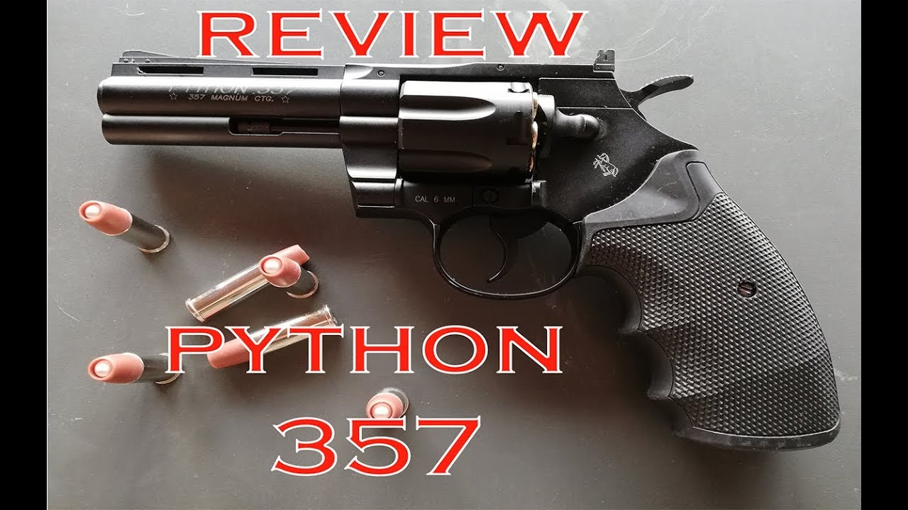 AIRSOFT REVIEW – 357 PYTHON
