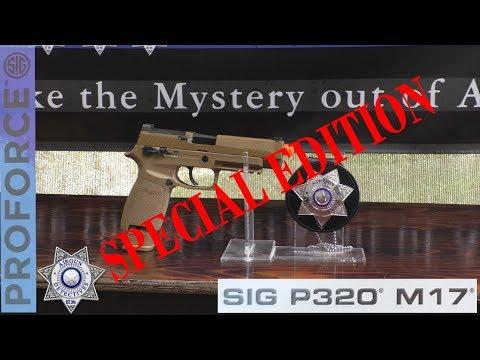 """SIG SAUER M17, """"NOUVEAU"""" PROFORCE P320-M17, 6 mm Airsoft Co2 Blowback """"Examen complet"""" par Airgun Detectives"""