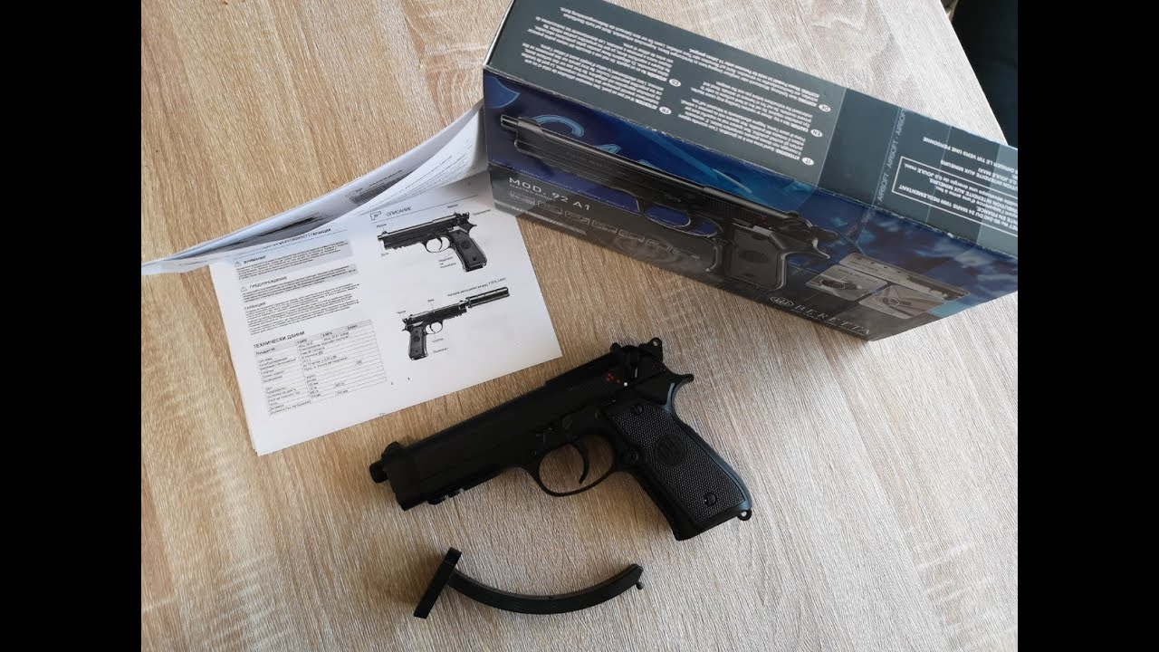 Airsoft Electric Beretta M92A1 Avis et test de tir