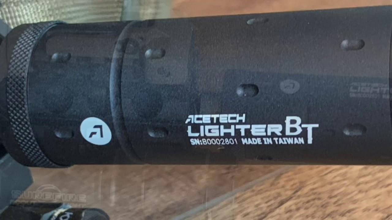 Airsoft Review: Acetech Lighter BT Airsoft Unité de traçage