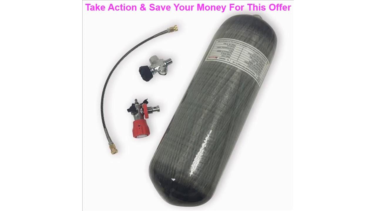ACECARE cylindre airsoft plongée air SCBA carabine à air comprimé airforce condor 4500psi en fibre de carbone
