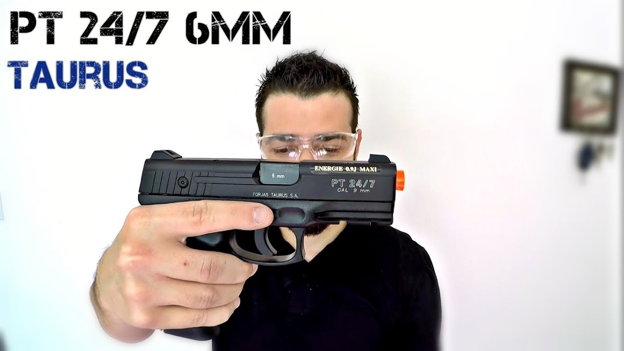 TAURUS 24/7 6MM Co2 NBB | Airsoft Review | FBAIRSOFT