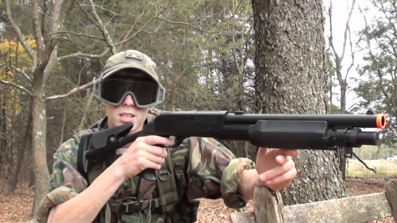 Double Eagle M56C fusil de chasse triple-shot Review Airsoft