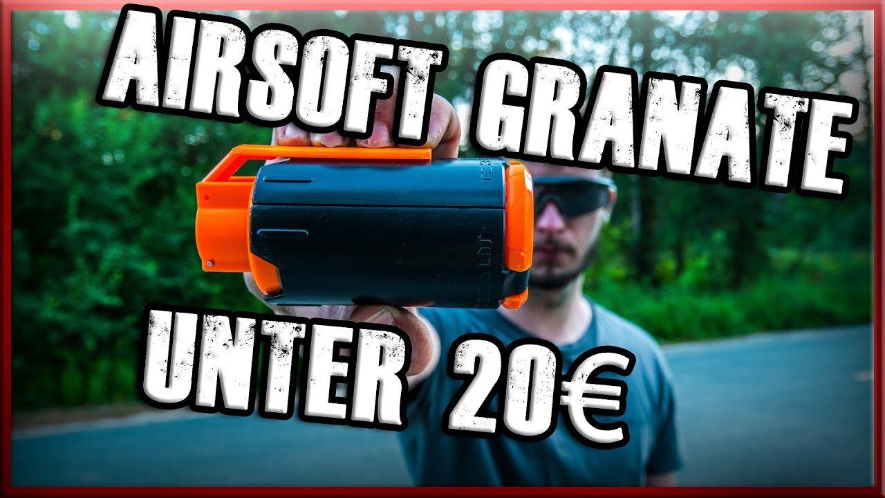 20 € AIRSOFT GRANATE Test Wish Acheter Testé GsP Airsoft Allemand / Allemand